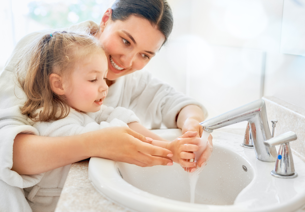 hygiene habits for kids
